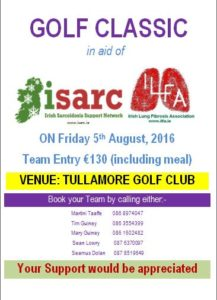 ISARC Tullamore Golf Club Golf Classic August 2016